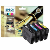 Epson Genuine T1636 16XL BK CMY Ink Multipack for WorkForce WF-2530WF WF-2540WF