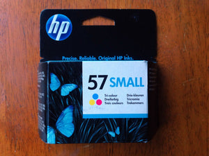 Genuine HP 57 Small Colour Ink Cartridges (C6657AE, C6657G) 1613 2105 2110 2175