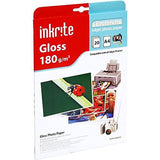 Inkrite PhotoPlus Premium Paper Photo Gloss 180gsm A4 (20 sheets) - UK SELLER BN