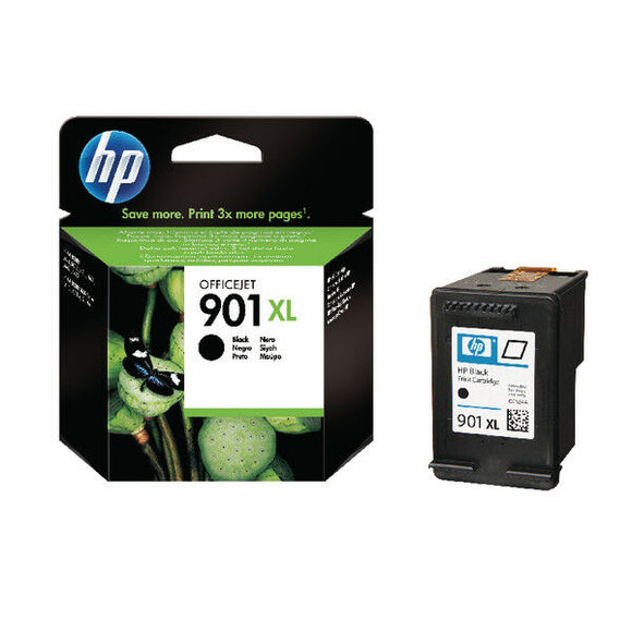 HP 901XL BLACK INK CC654AE 4500 Series J4525 J4535 J4580 J4680 901 XL 700 Pages