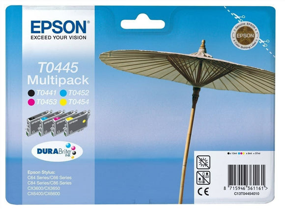 Epson T0445 Original Ink Cartridges T0441 T0452 T0453 T0454 for CX6600 C86 C84