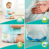 Pampers Baby Dry Air Channels Nappy 15+ Kg XL Size 6 - Giga Pack 92 Nappies