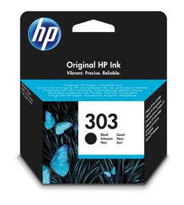 Original HP 303 Black Ink Cartridge For ENVY Photo 6234 6220 6230 7130 7830 UK