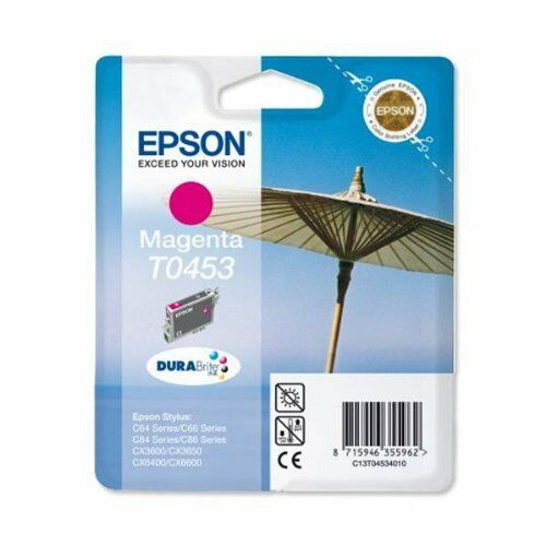 3 x Epson T0453 Ink Cartridge Part of T0445 For CX3600 CX3650 C6600 CX6400 New