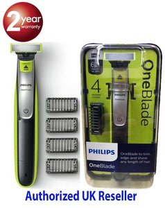 Phillips One Blade QP2530/25 Trim, Edge and Shave  Wet or Dry Men Trimmer