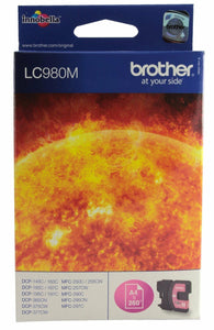 Brother Original LC980  LC980M Magenta Ink cartridge for DCP and MFC printers