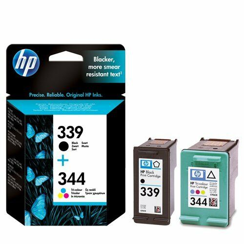 Genuine HP 339 + HP 344 Black & Colour Ink Cartridges C8767EE  C9363EE FAST POST
