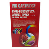 Non-OEM 364 XL Ink Cartridges for HP Photosmart 5510 5515 5520 5524 6510 C6380