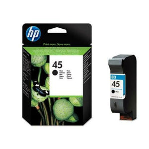 Genuine Original HP45 / HP 45 Black Ink Cartridge - 51645GE/ 51645G 1000 1100