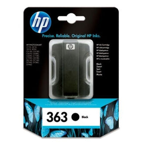 HP 363 - C8721EE / C8721 EE  Genuine / Original Black Printer Ink Cartridge BA3