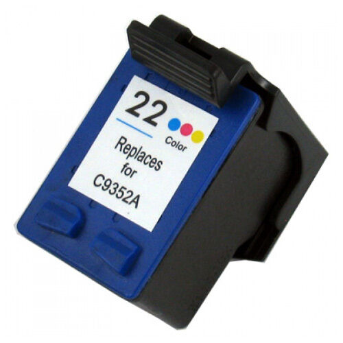 Replacement Ink Cartridge For HP C9352AN / H-22 C9352AE H22 F380 F4180 D1360 DJ
