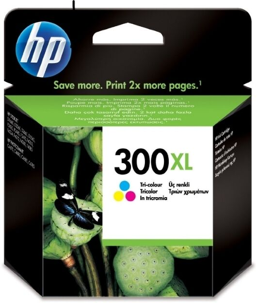 HP 300XL Colour (CC644E) Ink Cartridge with Vivera Ink Photosmart Envy C4680 100