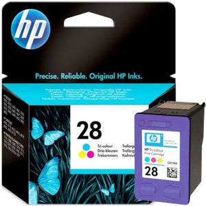 HP 28 Genuine/Original Ink Cartridges 240 Pages 8ml Tri-Colour HPC8728AE  VAT 20