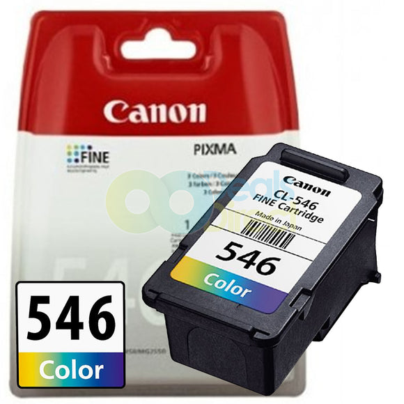 Genuine Canon CL-546 Colour Ink for Pixma MX495 MG 2450 2550 MG2950 MG2950S 2850