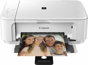 Canon PIXMA MG3550/MG3650 All in one Duplex Printer Scan Copy Wifi Air Print Wht