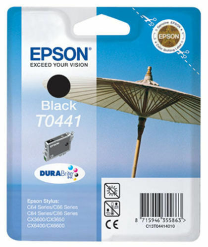 GENUINE EPSON T0441 BLACK INK CARTRIDGE EPSON STYLUS PHOTO C13T04414010 2017DATE