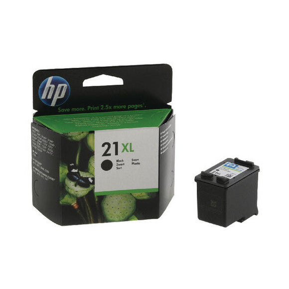 HP 21XL Black Original C9351CE NEW HIGH VOL 12.5ML 21 PSC1417 J5520 F4190 F4180