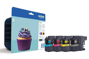 Genuine Brother LC123 BK CMYK 4 Ink Set for MFC-J6520DW MFC-J6720DW MFC-J6920DW