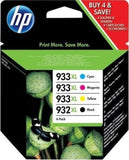 Genuine HP 932 933 XL 932XL 933XL Original Ink Cartridges 2017 lot 7510 7610 OJ