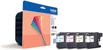 Brother LC-223 Black Cyan Yellow Magenta inkjet Cartridges MultiPack