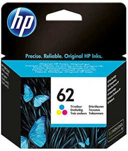 HP 62 Tri-colour Original Ink Cartridge