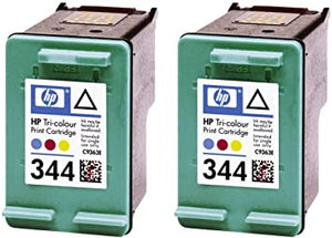 HP 344 Original Ink Cartridges (Pack of 2) in Foil Packaging