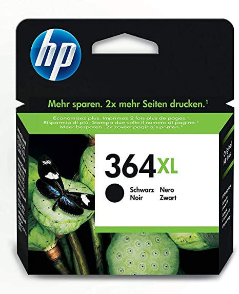 HP CN684EE 364XL High Yield Original Ink Cartridge, Black, Pack of 1