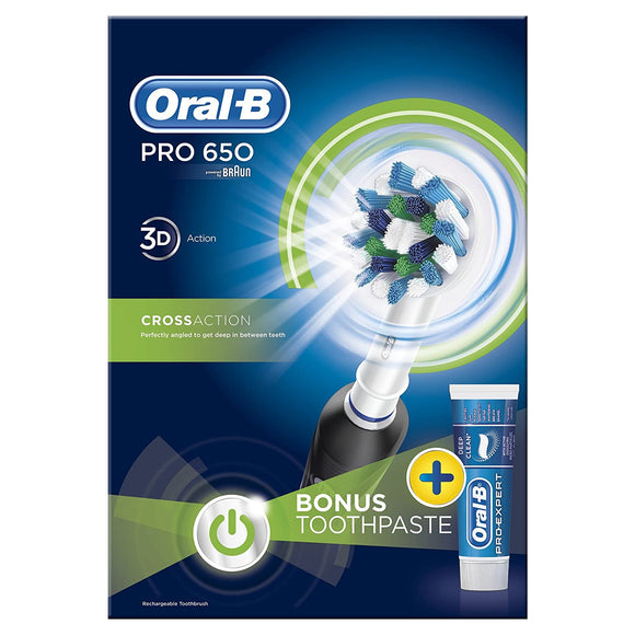Oral-B OralB Braun Pro 3d Action Power Electric Rechargeable Tooth Brush New UK