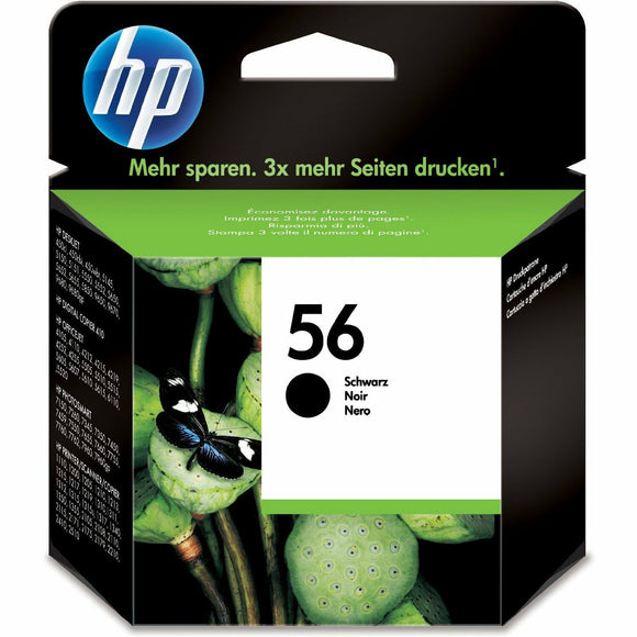 Genuine Original HP No 56 Black Ink Cartridge C6656AE DeskJet OfficeJet