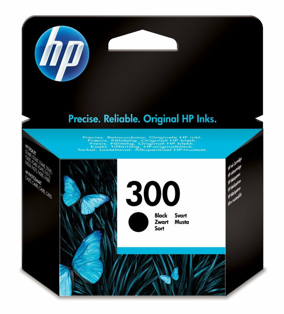 HP 300 Black Ink Cartridge Original F4580 C4680 D1660 F4280 F2420 CC640EE D5560