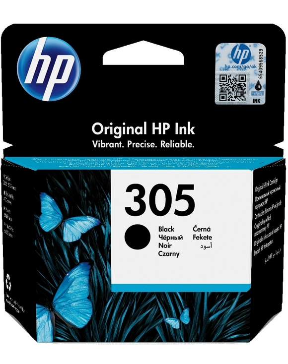 Genuine HP305 BK & COLOUR Ink Cartridges for DeskJet 2710 2720 Plus 4100 Lot