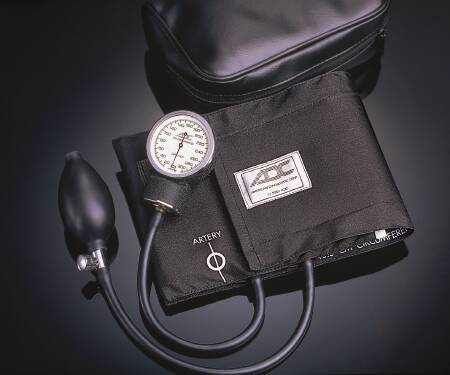 Aneroid Sphygmomanometer Diagnostix 760 Series Pocket Style Hand Held 2-Tube Adult Size Thigh