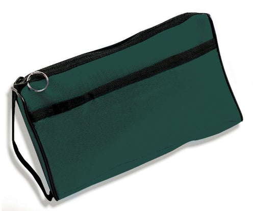 Premium Zipper Storage Case Dark Green