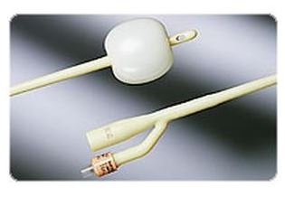 Bardex I.C. Infection Control 2-Way Foley Catheter, Silver Hydrogel Coated, 16Fr 30cc Balloon Capacity
