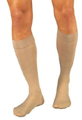JOBST Relief Knee High Large Beige Closed Toe