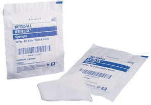 Kerlix Cotton 12-Ply 4in x 4in Square Sterile