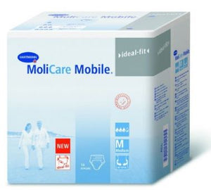 Molicare Mobile Adult Absorbent Underwear Pull On Medium Disposable Heavy Absorbency