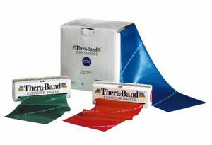 Thera-Band Exercise Resistance Band Green 25yrd Level 3 Resistance