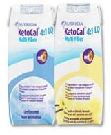 KetoCal 4:1 Unflavored 8 oz. Carton Ready to Use