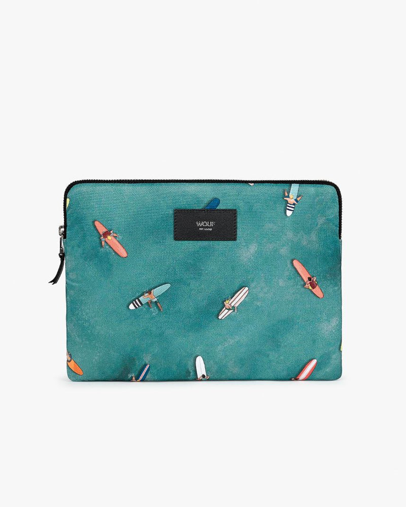 housse de protection pour Ipad et tablette Wouf collection Biarritz surf