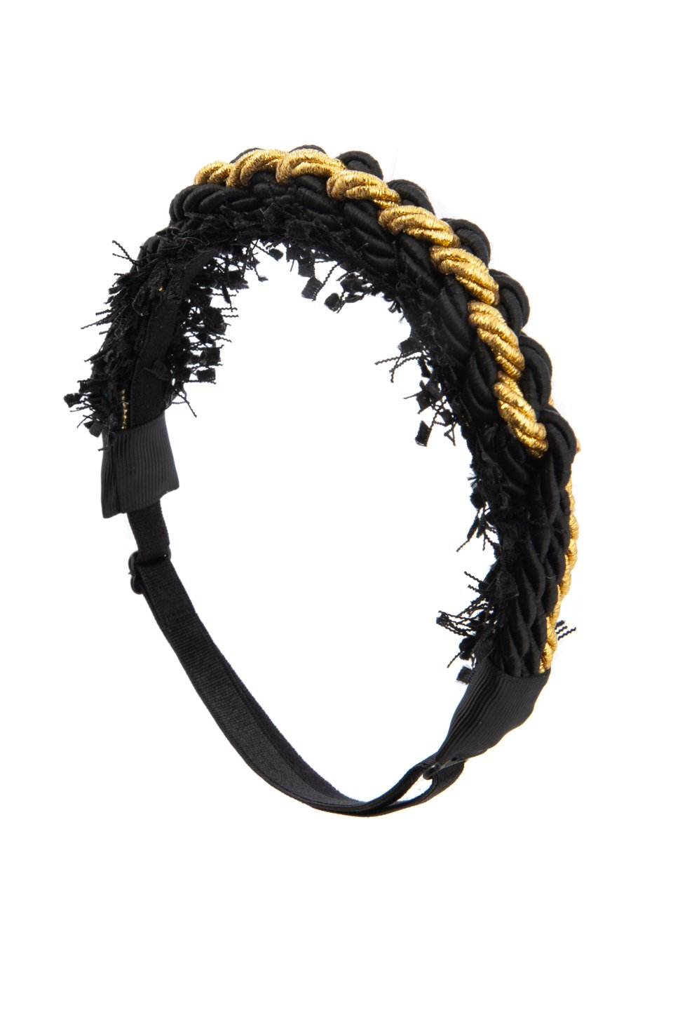 All Roped In Wrap-Black/Gold - PROJECT 6, modest fashion