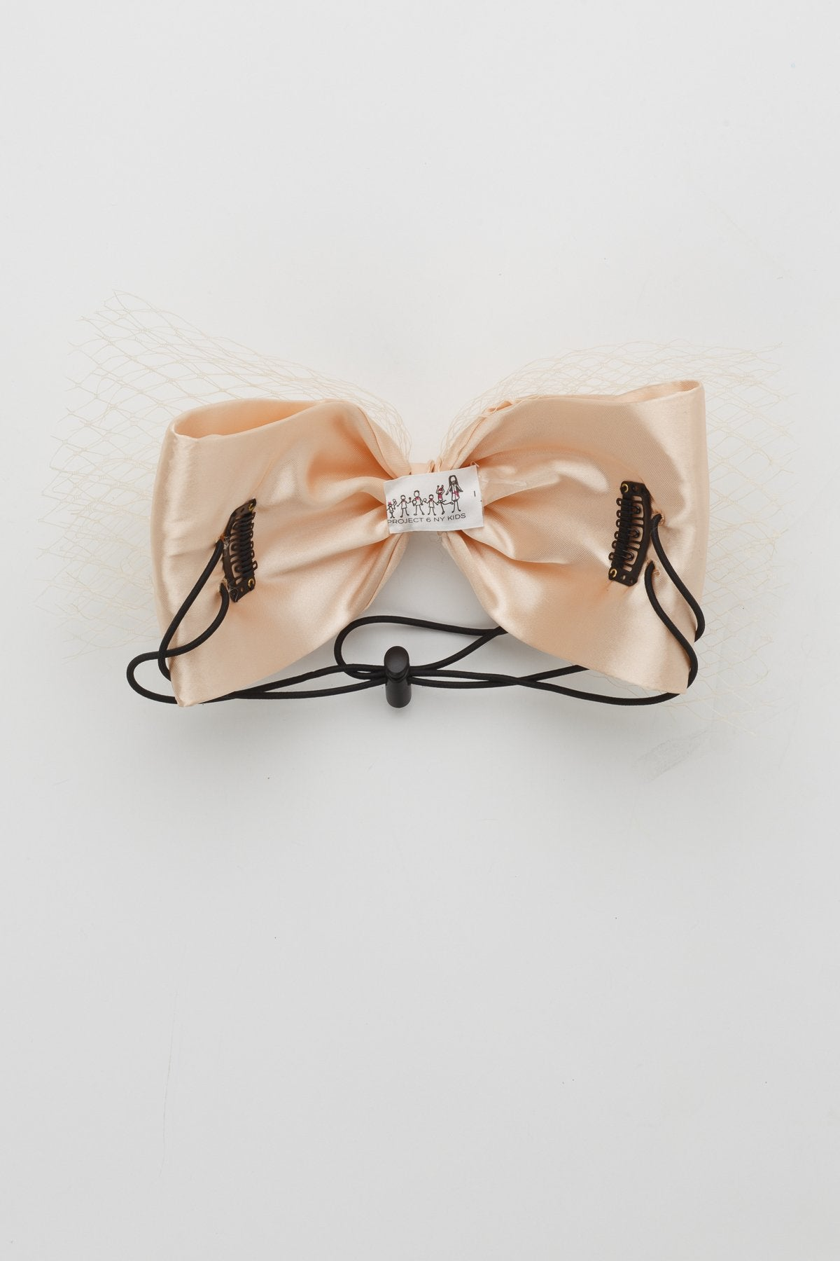 Avant Garde Bow Grand - Champagne - PROJECT 6, modest fashion