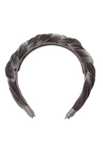 Load image into Gallery viewer, Coronation Day Headband - Grey Velvet - PROJECT 6, modest fashion