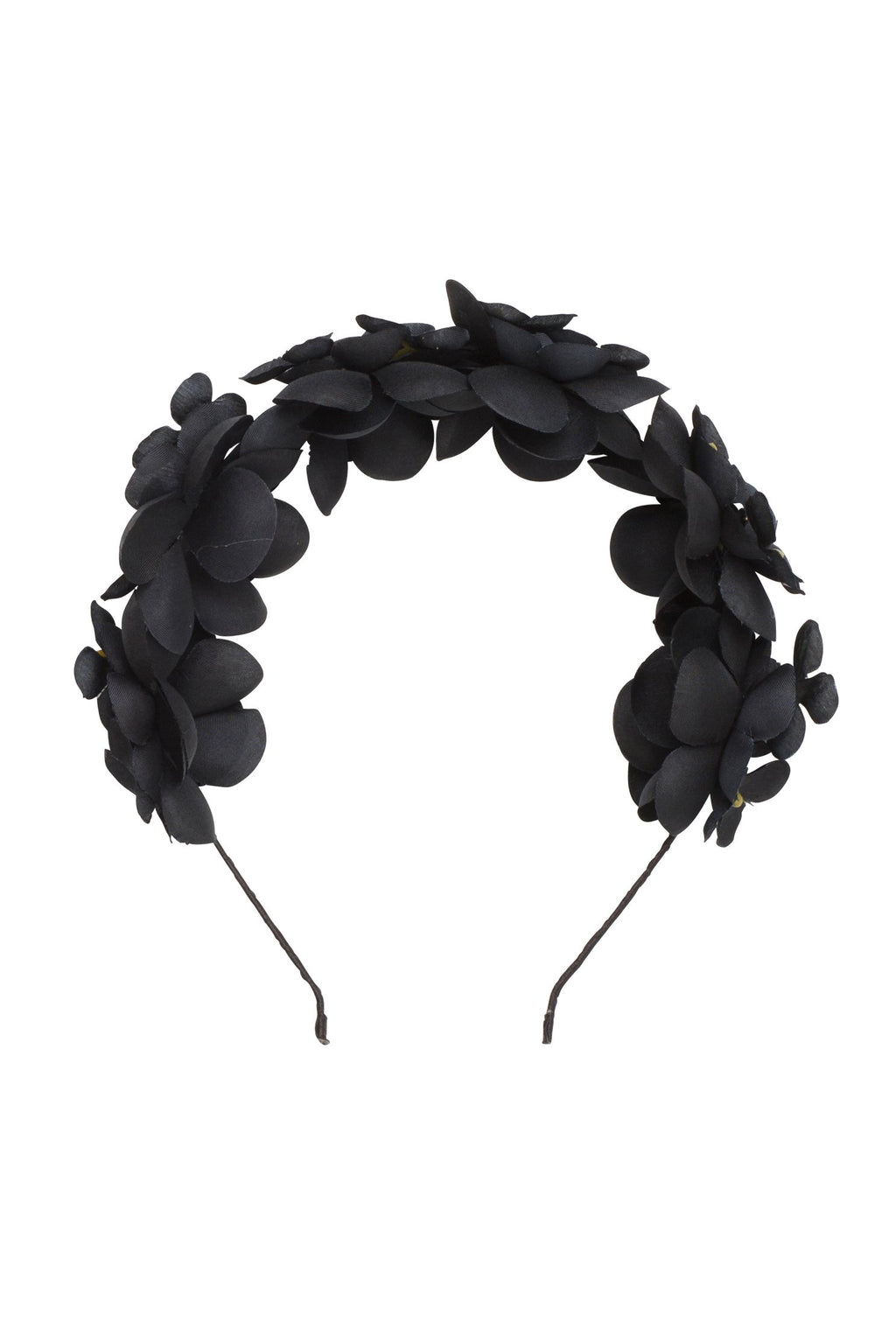 Floral Crown - Black - PROJECT 6, modest fashion