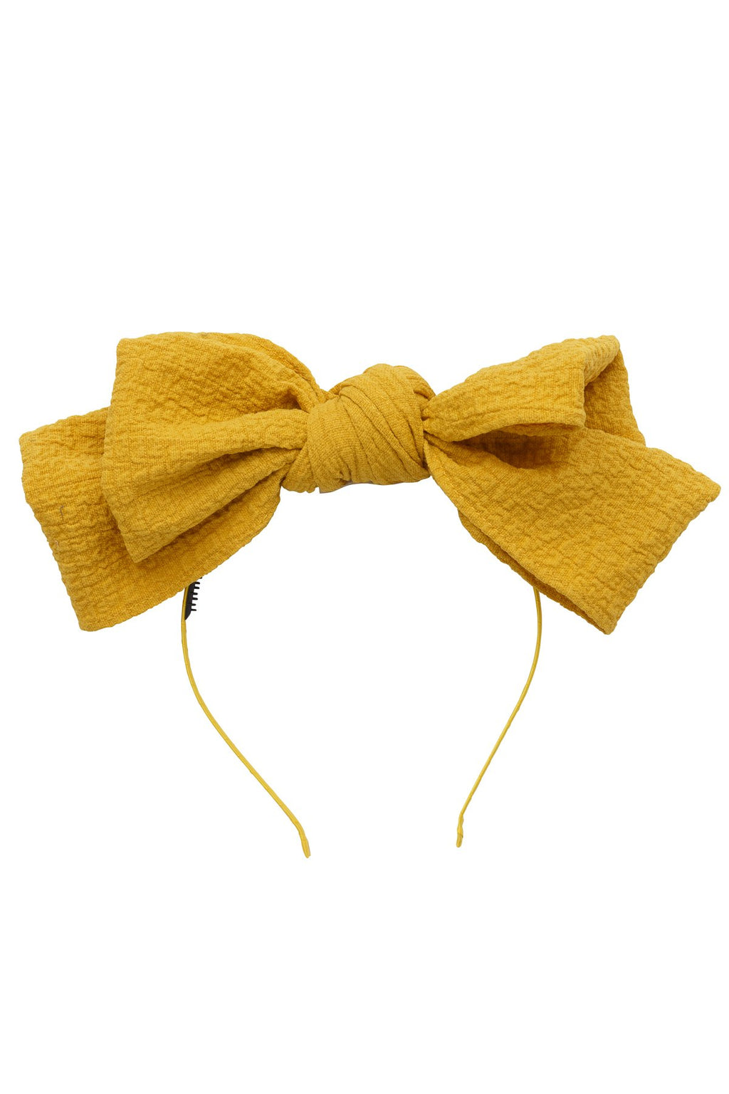 Floppy Muslin Headband - Mustard - PROJECT 6, modest fashion