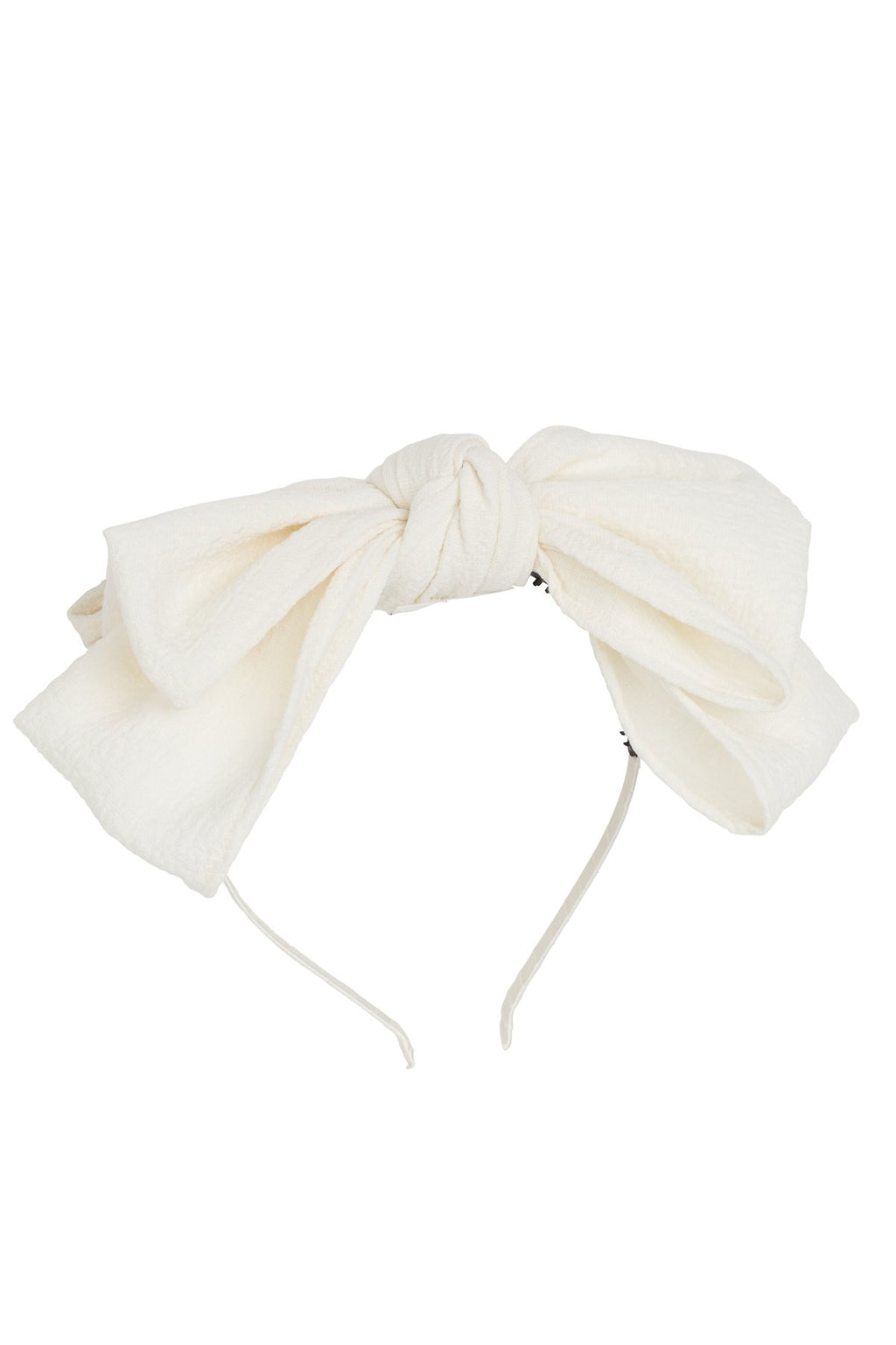 Floppy Muslin Headband - Off White - PROJECT 6, modest fashion