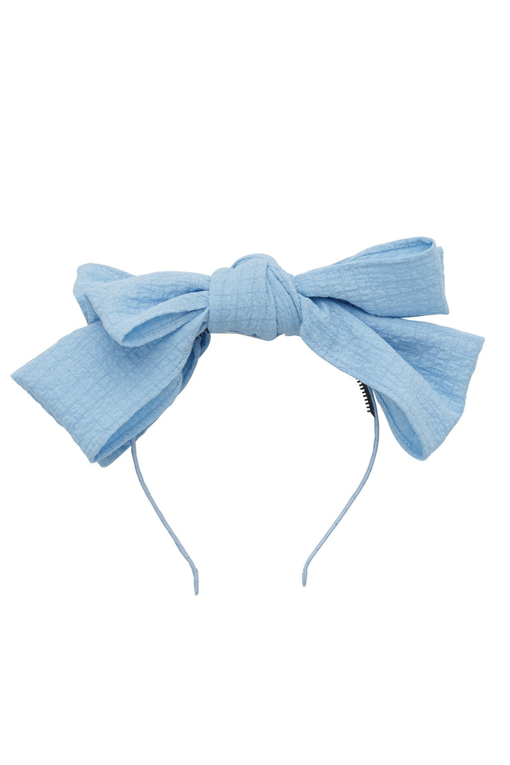Floppy Muslin Headband - Sky Blue - PROJECT 6, modest fashion