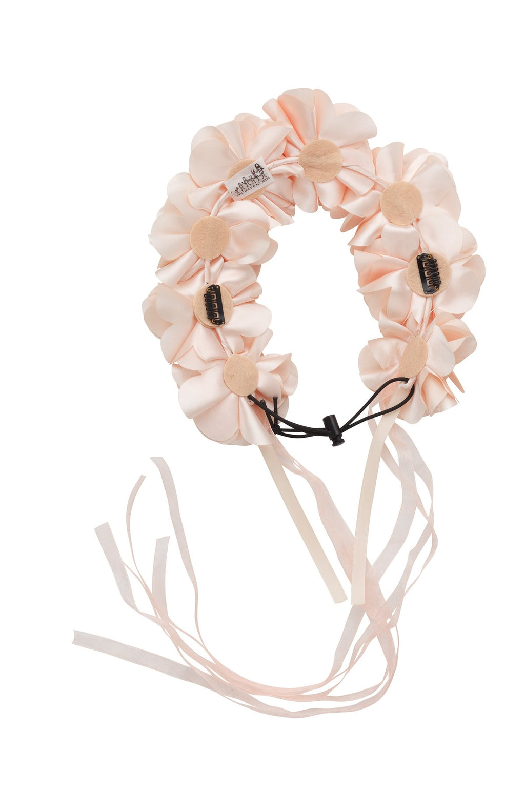 Floral Wreath Full - Light Peach - PROJECT 6, modest fashion