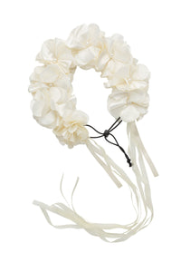 Floral Wreath Full - Dove Ivory - PROJECT 6, modest fashion