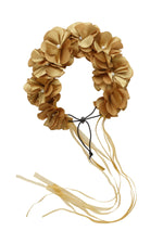 Load image into Gallery viewer, Floral Wreath Full - Gold - PROJECT 6, modest fashion
